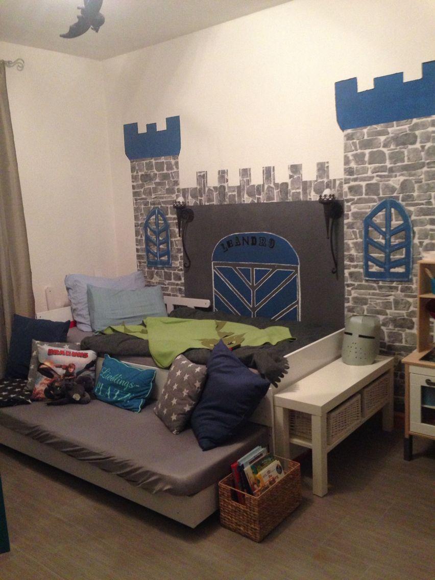 Ritterzimmer | Lanes Prince room | Pinterest | Kinderzimmer ...