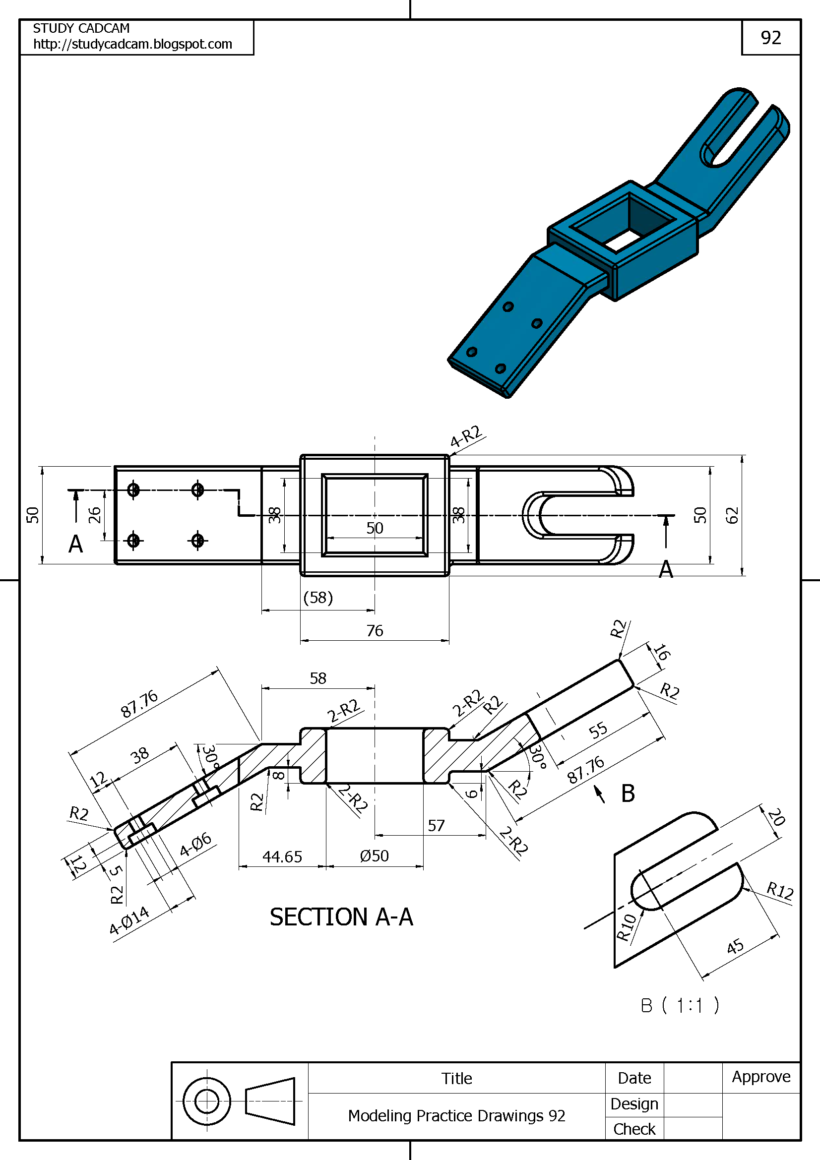Pin by Adrian Nugraha on Engineering Drawing 3D in 2019