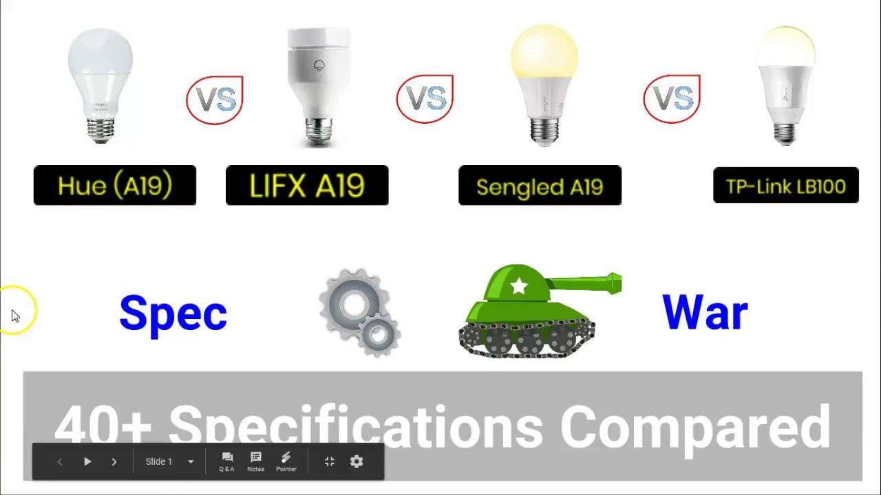Hue Vs Lifx Vs Sengled Vs Tp Link Best Smart Bulb Youtube Smart Bulb Tp Link Lifx