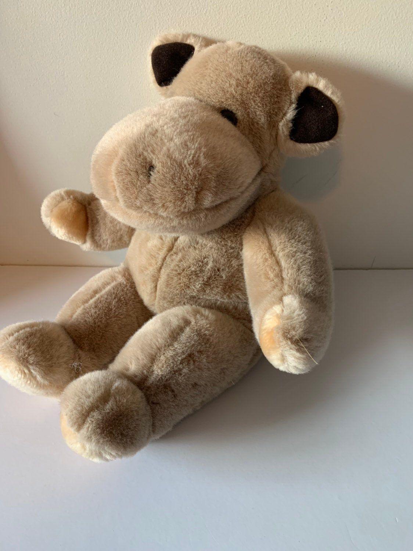 Weighted stuffed animal, hippopotamus, 4 1/2 lbs, sensory