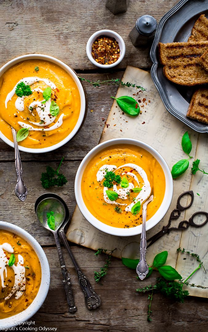 BEST BUTTERNUT SQUASH AND CANNELLINI BEANS SOUP