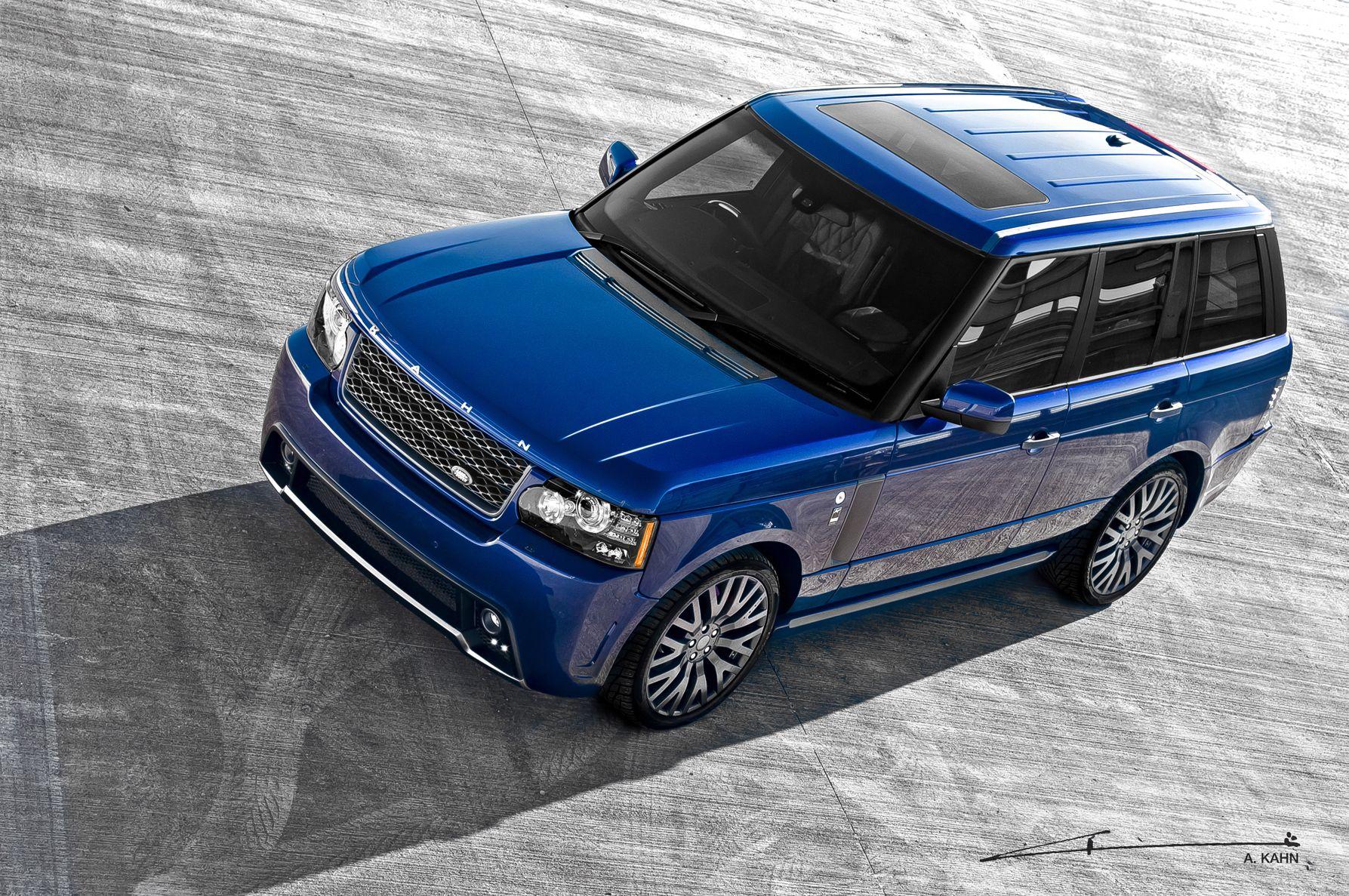Regal yet nonchalant the Kahn Bali Blue Range Rover