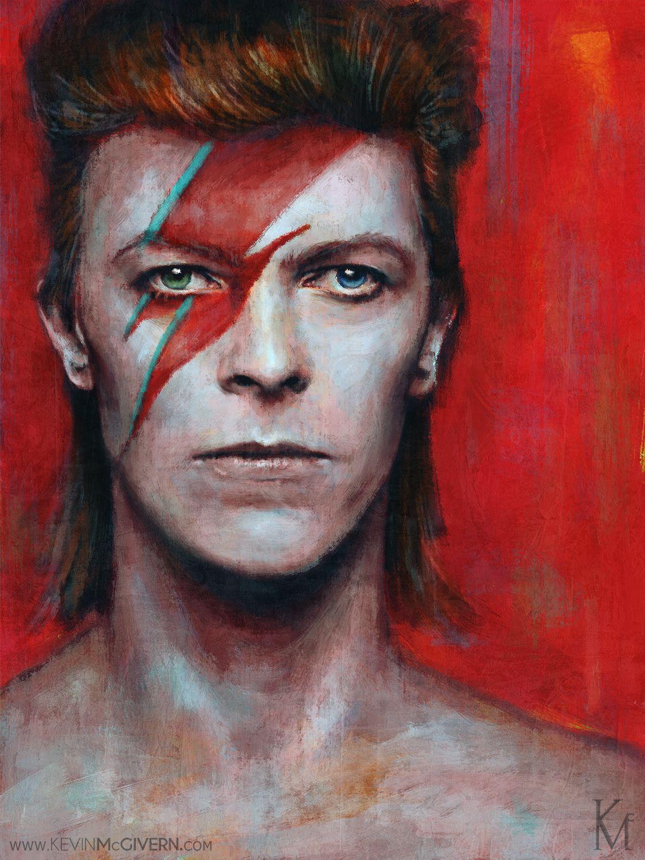 David Bowie Portrait by Kevin McGivern
