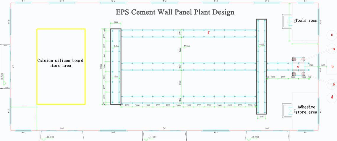 Eps Cement Sandwich Wall Panel Manufacturer Factory Plant Design