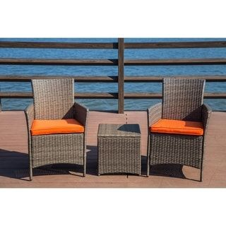 patio festival 3 piece chairs coffee table set w cushions rh pinterest com