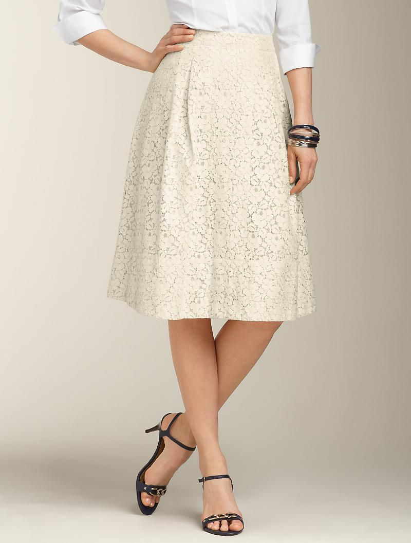 Talbots - Dixie Lace Full Skirt | Skirts | Apparel