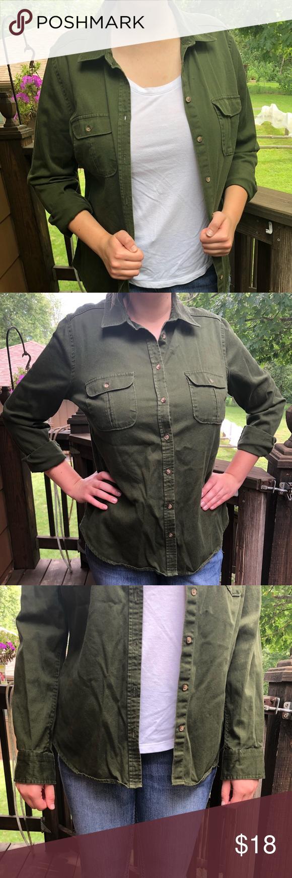 Dark green dress shirt  Dark Green Long Sleeve Shirt  My Posh Picks  Pinterest  Fashion