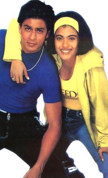 Kuch Kuch Hota Hai With Kajol Bollywood Stars Shahrukh Khan And Kajol Bollywood Movie
