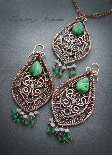 Pin von Olga Jones auf Anastasia Ivanova wire wrap | Pinterest ...