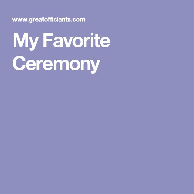 Wedding Officiant Speech Ideas: Wedding Officiant Script
