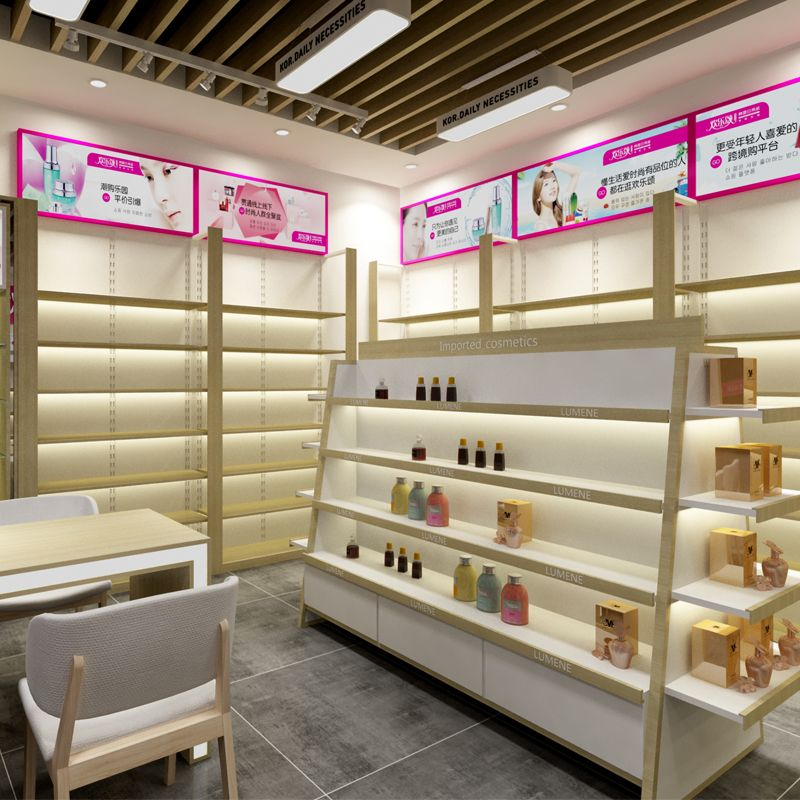 Beauty Shop Decoration Layout Store Design Interior Display Interiors