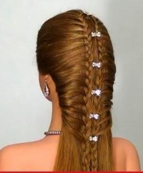 Peinado Doble Trenza Para Fiestas Paso A Paso Paperblog Trenzas Para Fiestas Peinados Peinados Con Trenzas