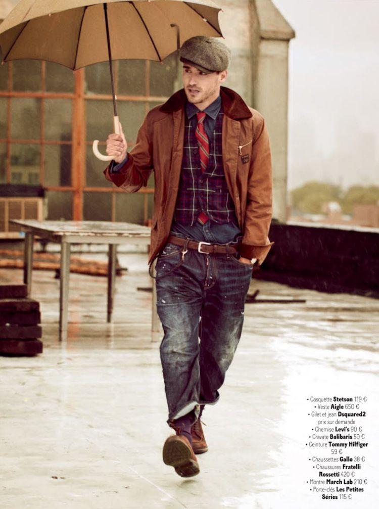 Arthur Kulkov is Brooklyn Chic for GQ France's September Issue