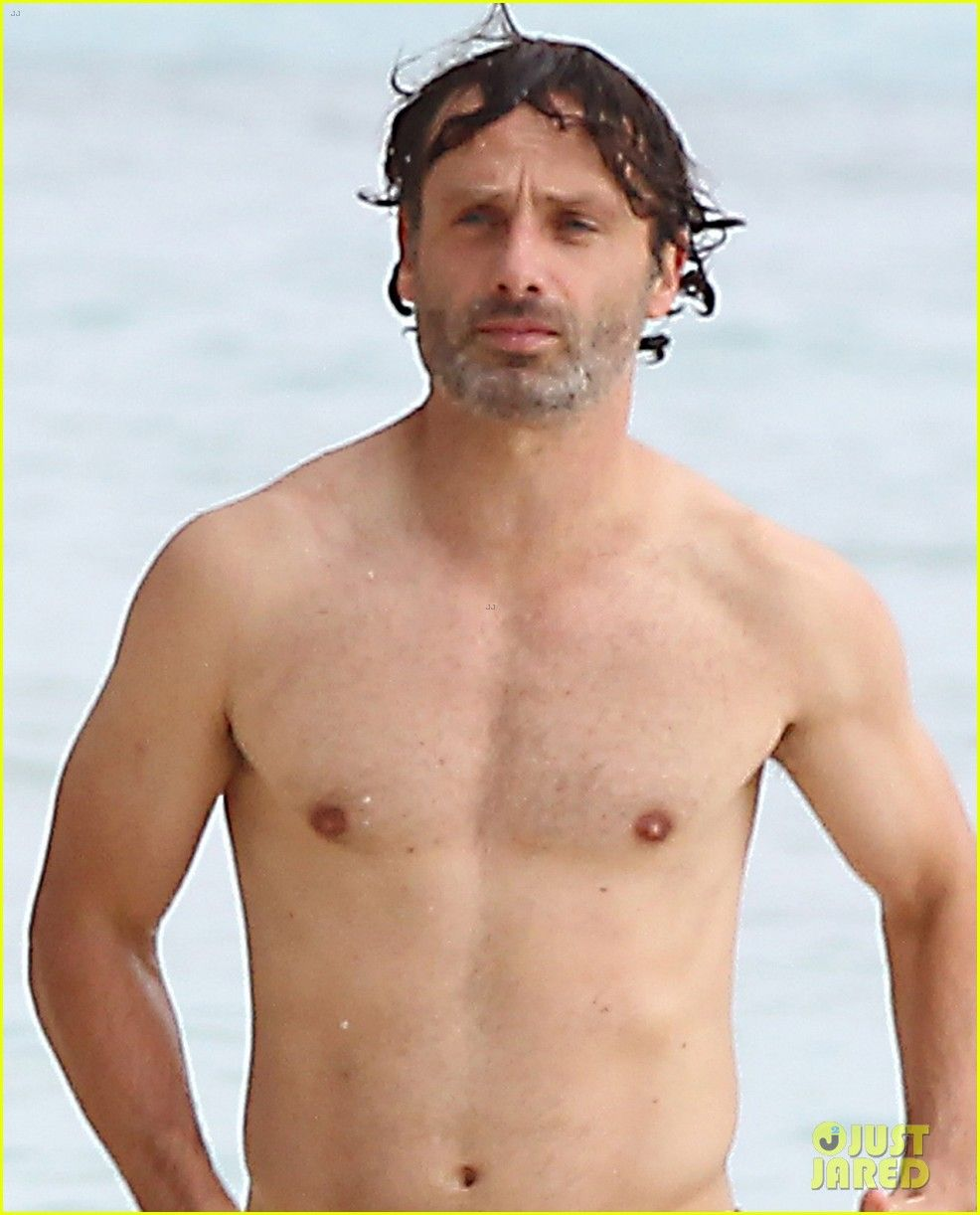 andrew lincoln gif hunt