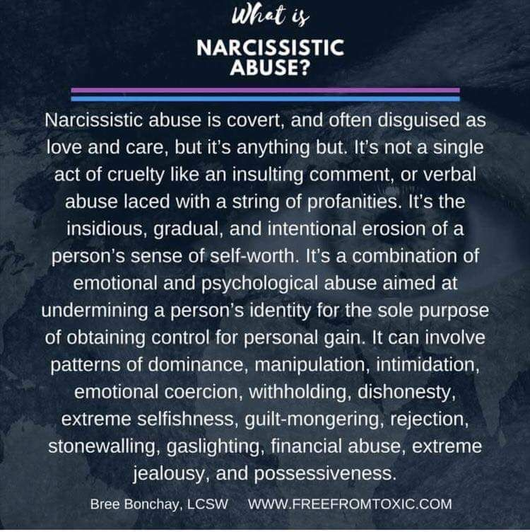 what is narcissistic abuse