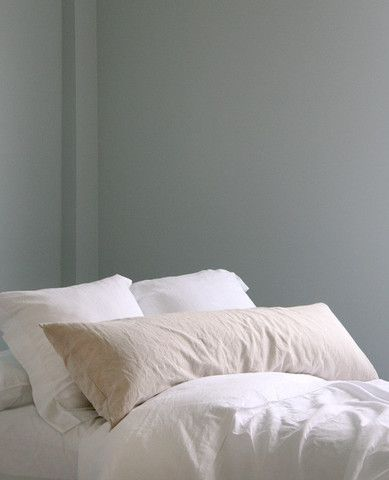 Washed Linen Body Pillow Pillows All White Bedroom Cool Beds