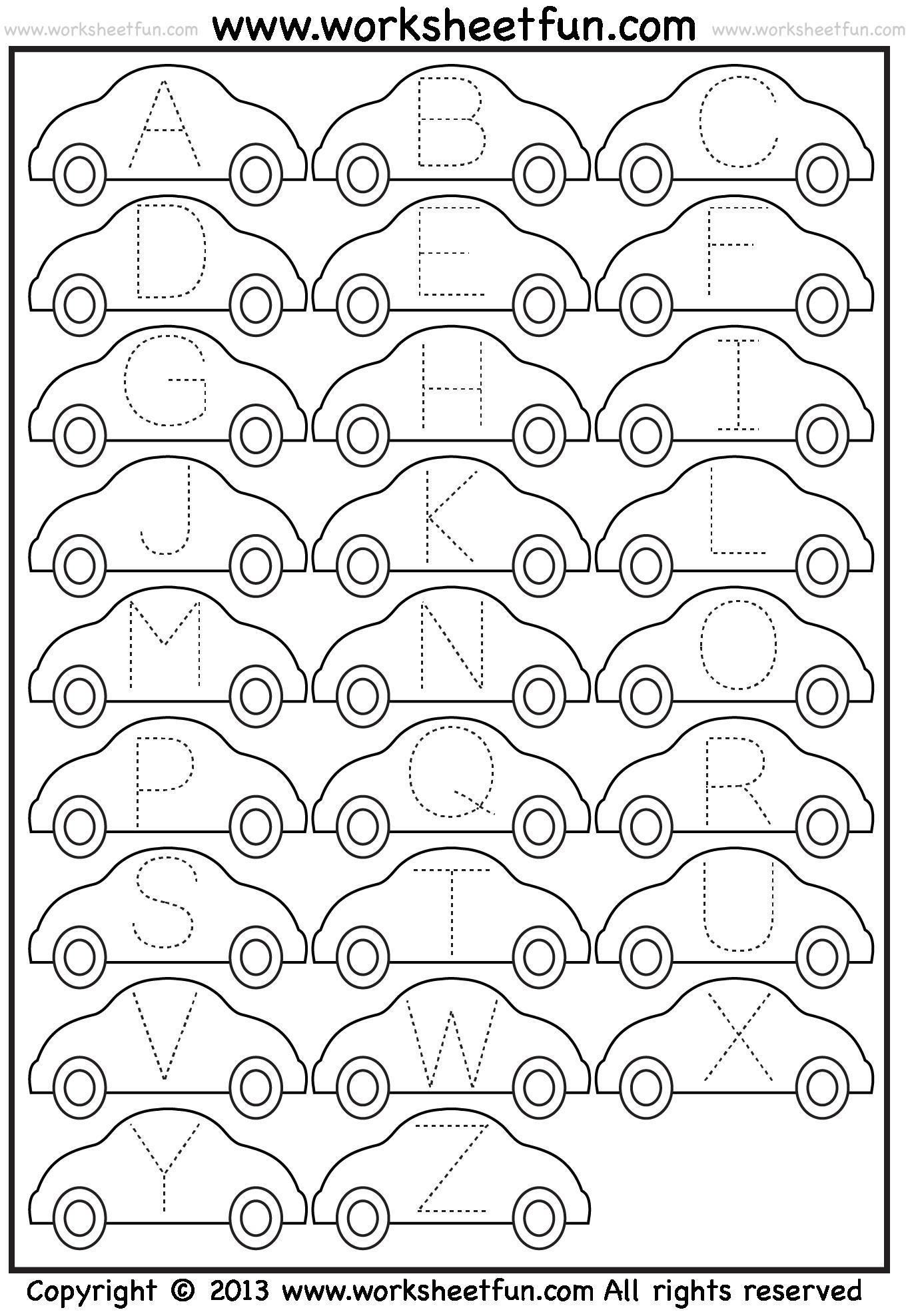Awesome Printable Letter Tracing Pages That You Must Know