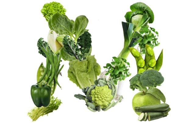 Letter M green vegetables
