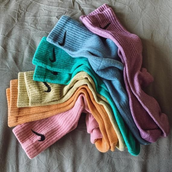 Photo of nike one color wonder socks – made to order dyed nike socks in all sizes!