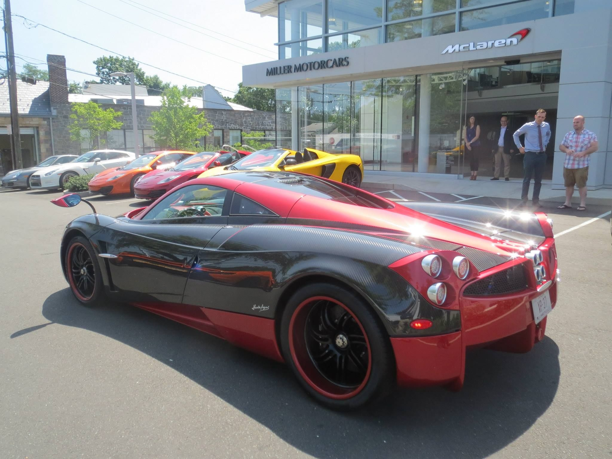 First Pagani Huayra delivered in the U.S. | Car Fanatics Blog ...