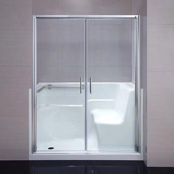 Seguria Walk-in Shower Kit - Tub Replacement | Projects to try ...