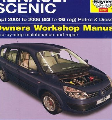 Haynes Renault Scenic Petrol And Diesel Service And Repair Manual 2003 To 2006 Service Repair Manuals Petrol Repair