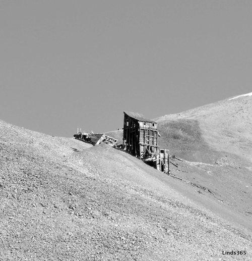 The old mines along the hike up Mt. Sherman in Colorado. Love me some 14ers :)