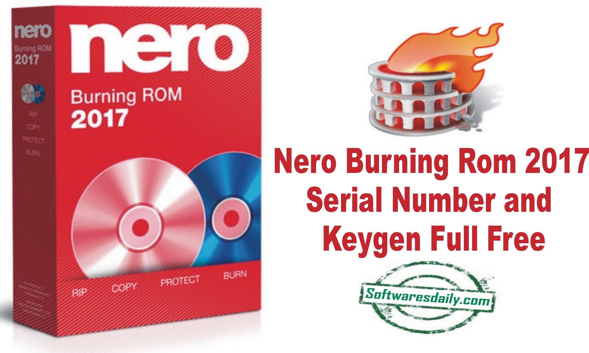 nero free serial number
