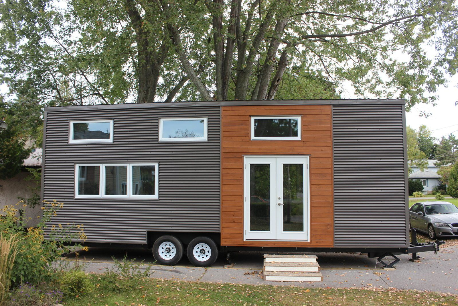 a modern 390 sq ft tiny house with two bedrooms currently available rh pinterest com Kingston Jamaica Map Kingston Name
