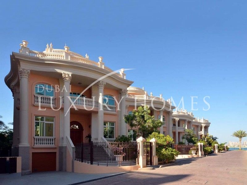 Dubai Luxury Homes | Fully Furnished 5 B/R For Villa For Sale In Kempinski,  Palm Jumeirah.