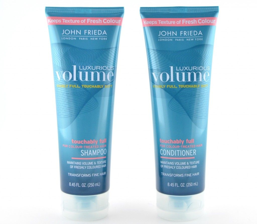 John Frieda Luxurious Volume Touchably Full Colour Treated Hair