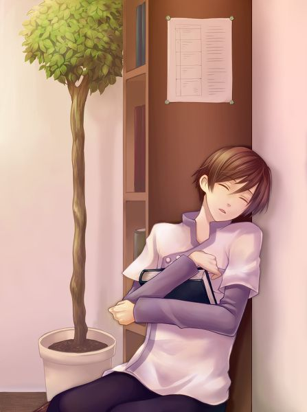 Medical training is exhausting, isn't it Hiro? From HM: TOTT.