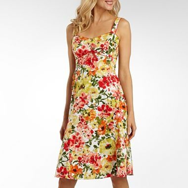 R Originals® Floral Print Bra Top Sundress - jcpenney
