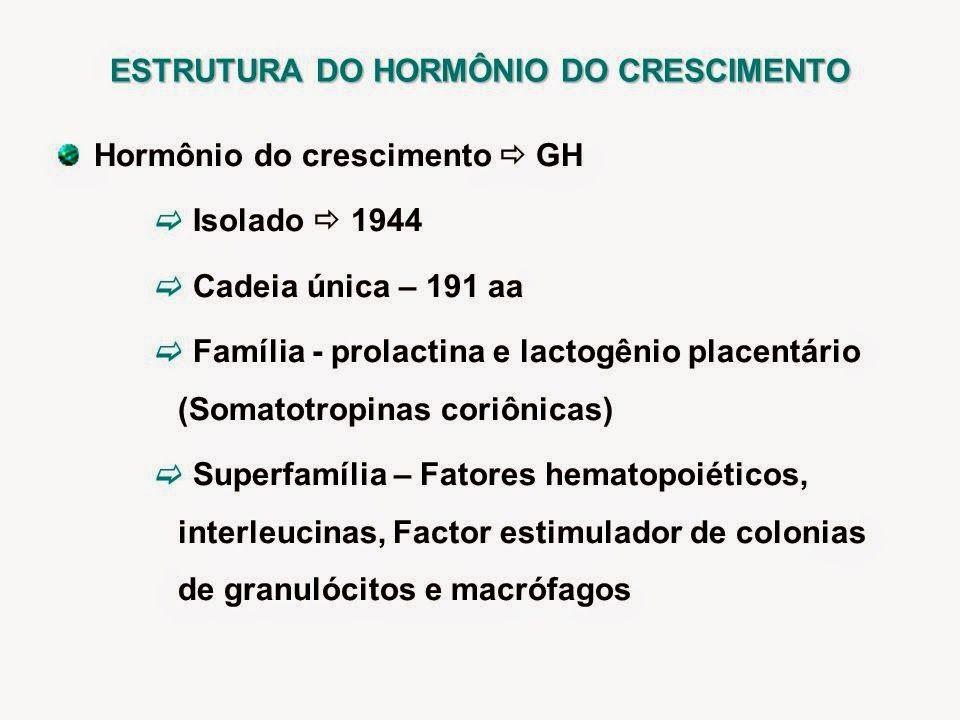 A somatotropina GH de origem de rDNA tem sido disponível comercialmente desde 1985, sendo que este substituiu o GH derivado da pituitária humana, que foi retirado de uso por questões de segurança. Após este avanço fenomenal com a retirada do GH extraído de hipófise de humanos, e a substituição por uso de GH rDNA, ocorreu a redenção da terapêutica para crescimento procurada no meio científico a muitos anos