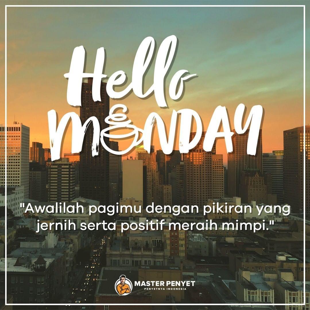 Selamat Pagi Di Hari Senin
