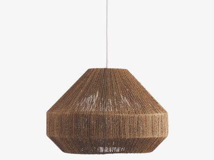 Laine natural jute jute ceiling light shade habitatuk