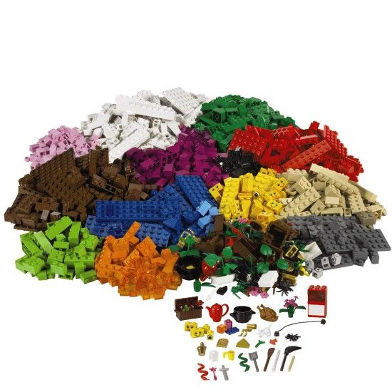 Lego sets... that were just bricks, and you had to, you know, use your own imagination to build stuff, instead of follow their fucking directions to build a Harry Potter castle, then let dust collect on it for a year.