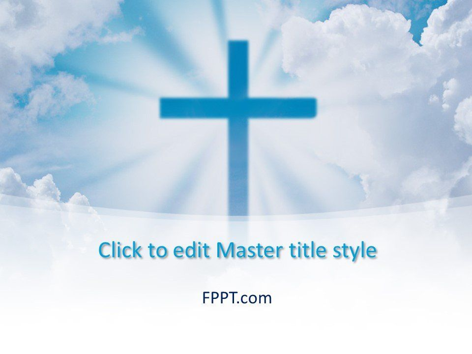 Free Cross Powerpoint Template