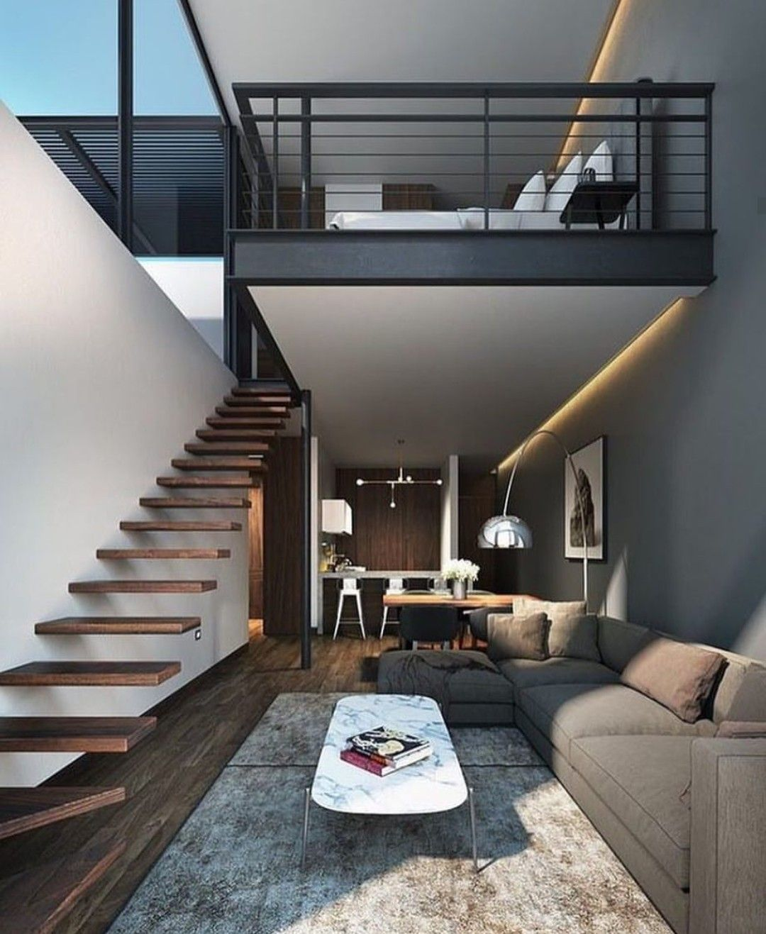 Pin By Cristal On Home Travel Loft Interiors Loft Design Modern House Design