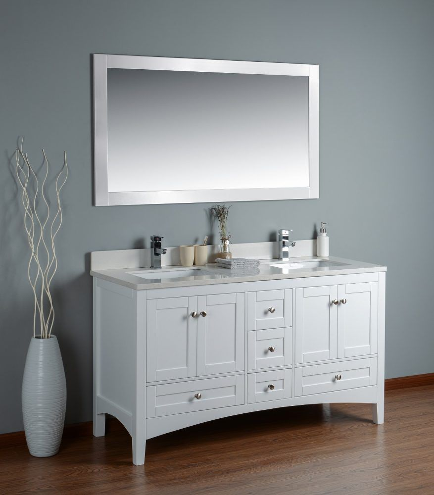 30 the 60 inch bathroom vanity for your home white