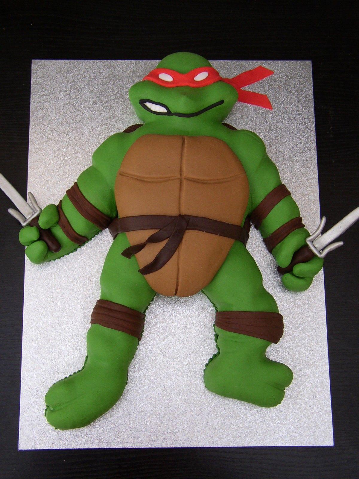 teenage mutant ninja turtles cake pan instructions