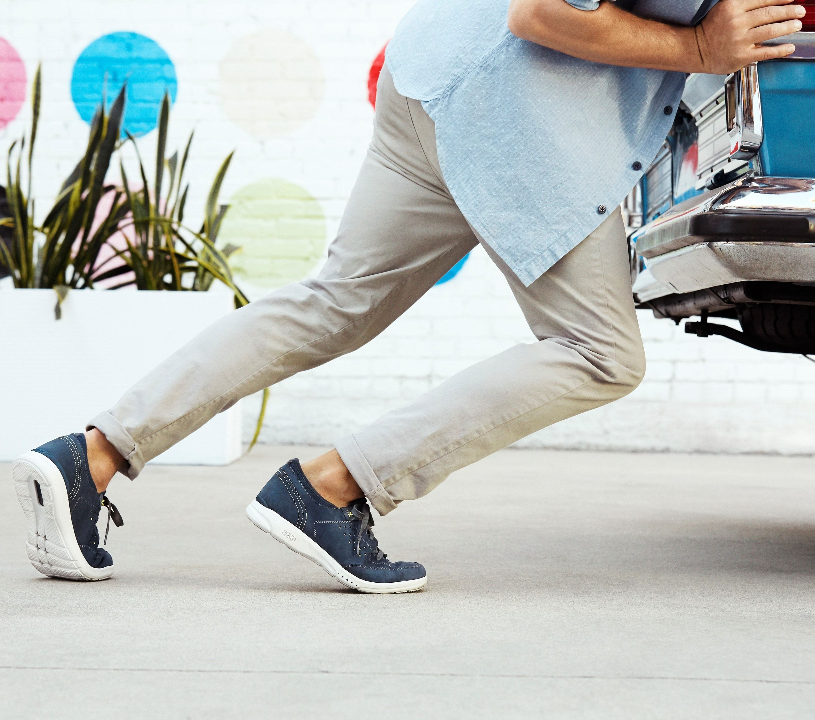 Comfort Meets Style In Flexible Footwear Comfortable Mens Shoes