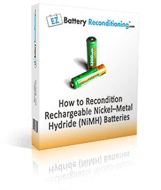 How To Recondition Rechargeable Nickel Metal Hydride Nimh Batteries Nimh Battery Recondition Batteries Car Battery Hacks