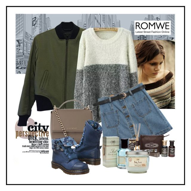 """""""Urban Casual Style"""" by ul-inn ❤ liked on Polyvore featuring rag & bone, Chicnova Fashion, Givenchy, Dr. Martens and Aroma"""