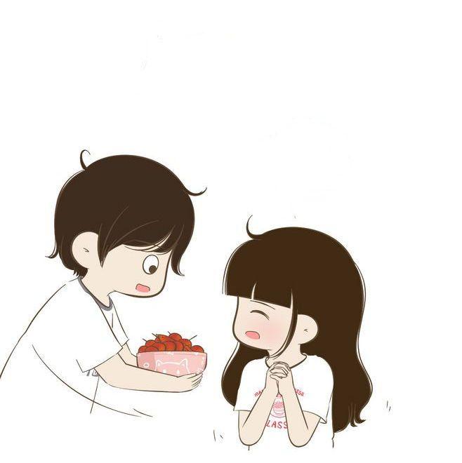 Cartoon Cute Couples