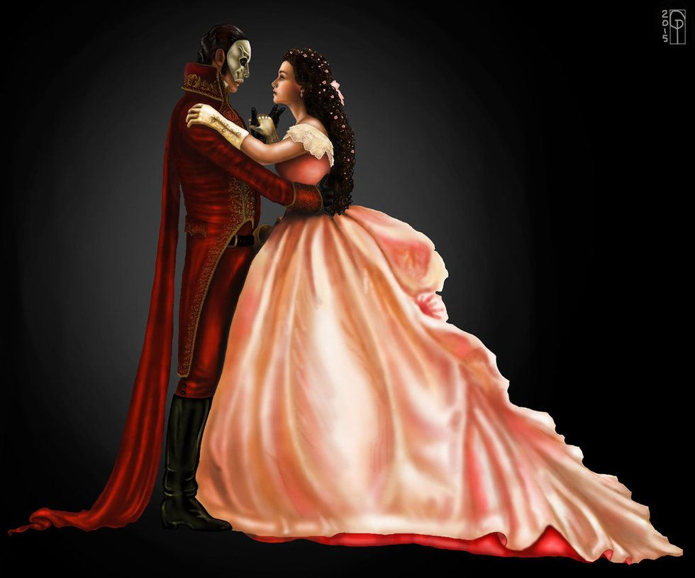 Ball Phantom And Christine By Gabriella92 On Deviantart Phantom