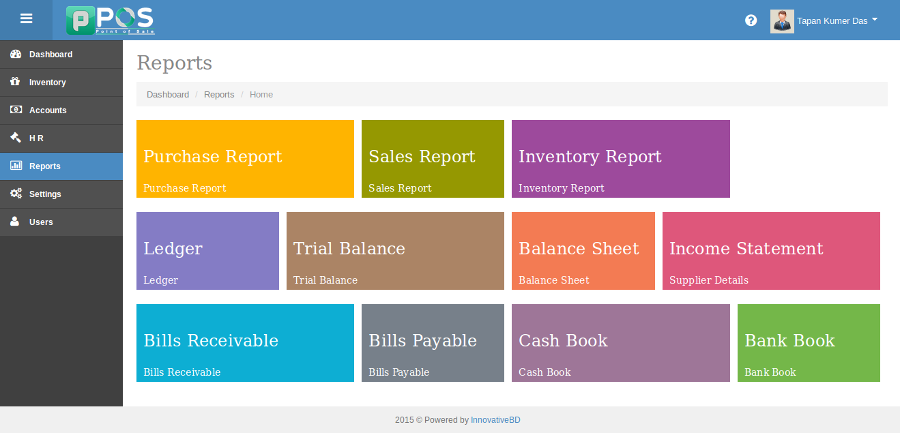 Point of Sale (POS) with Accounting System | Design