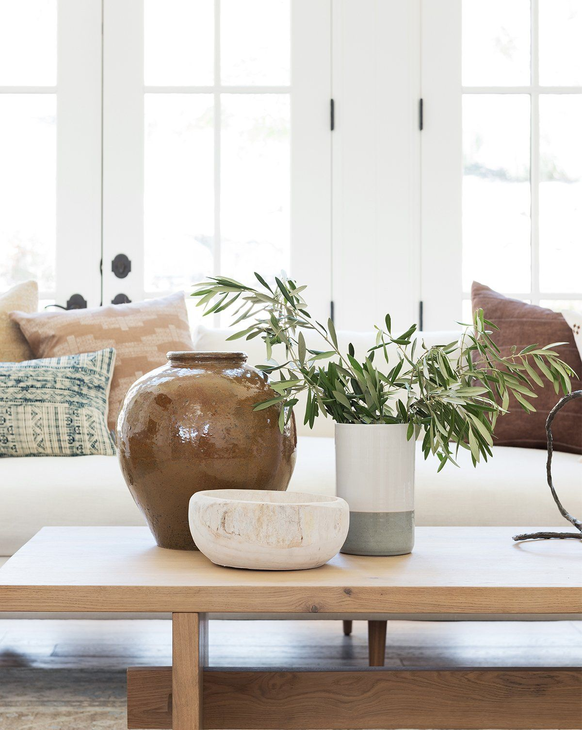 Whitewashed Wooden Bowl In 2021 Wooden Bowls Decor Decor Table Decor Living Room [ 1504 x 1200 Pixel ]