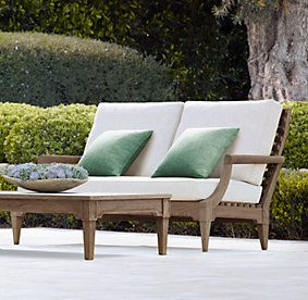 Devon Outdoor Collection Natural Teak | Restoration Hardware
