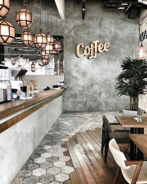 Kitchen Industrial Di 2019 Kedai Kopi Dekorasi Kreatif Dan